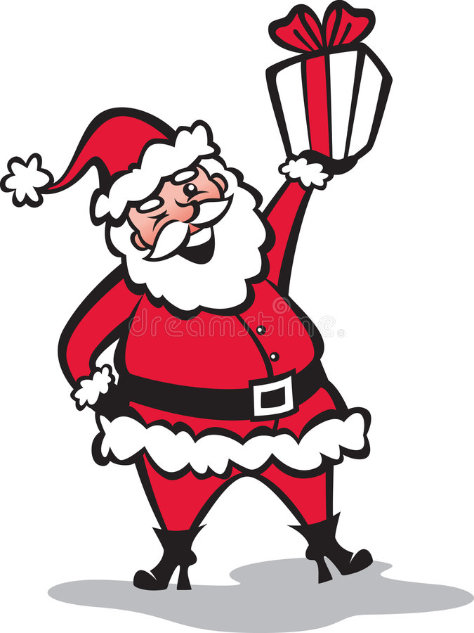 mój Boże Narodzenie prezent ty ilustracja wektor