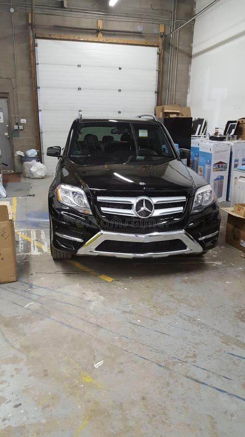 Mój Nowy Mercedez Benz obrazy royalty free
