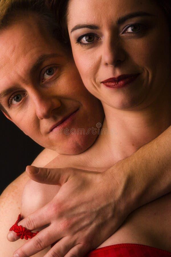 mój ochraniać żonę zdjęcie stock