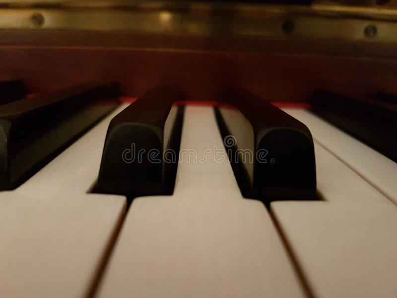 Mój pianino fotografia stock