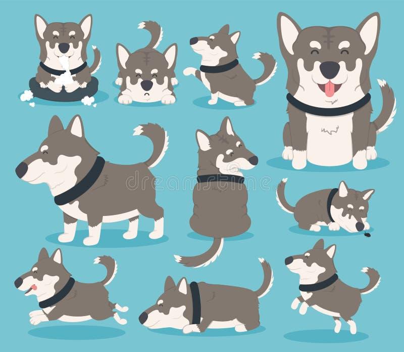 Mój pies eps 10 ilustracji