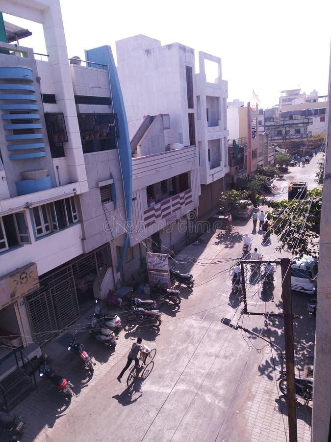 Mój rodzinny miejski okręg Beed Maharashtra Indie zdjęcie royalty free