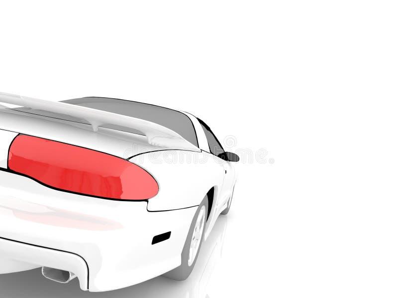 Mój swój samochodowy projekt 3D royalty ilustracja