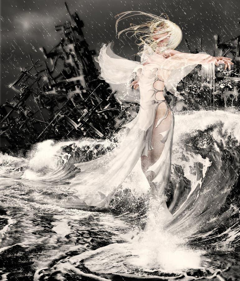 mój też aniele ilustracja wektor