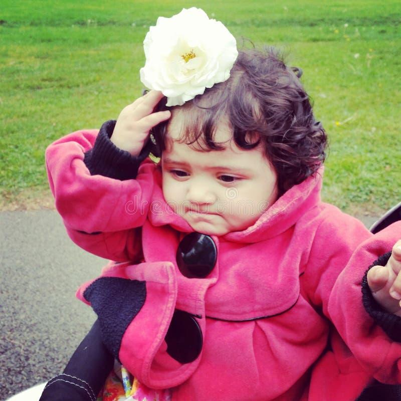 Mój uroczy Rahaf zdjęcie stock