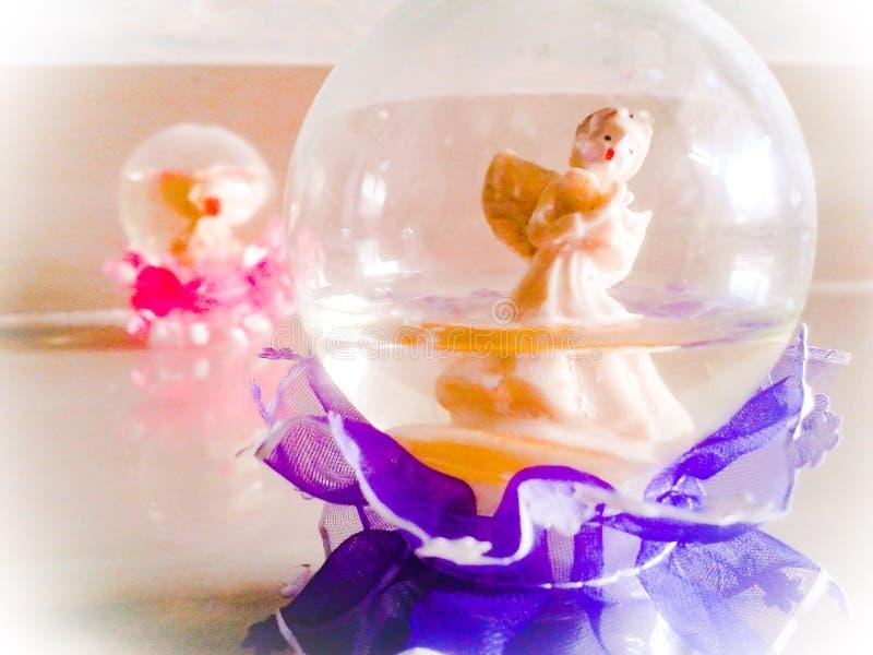 Mój worth te stara śnieżna kula ziemska fotografia royalty free