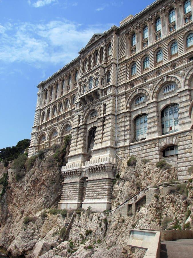 Mónaco - museo oceanográfico imagen de archivo libre de regalías