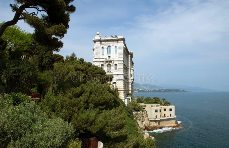 Mónaco - museo oceanográfico fotos de archivo libres de regalías