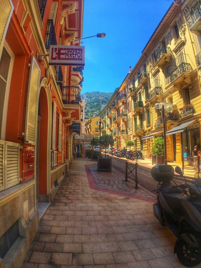 Mónaco/Niza imagen de archivo libre de regalías
