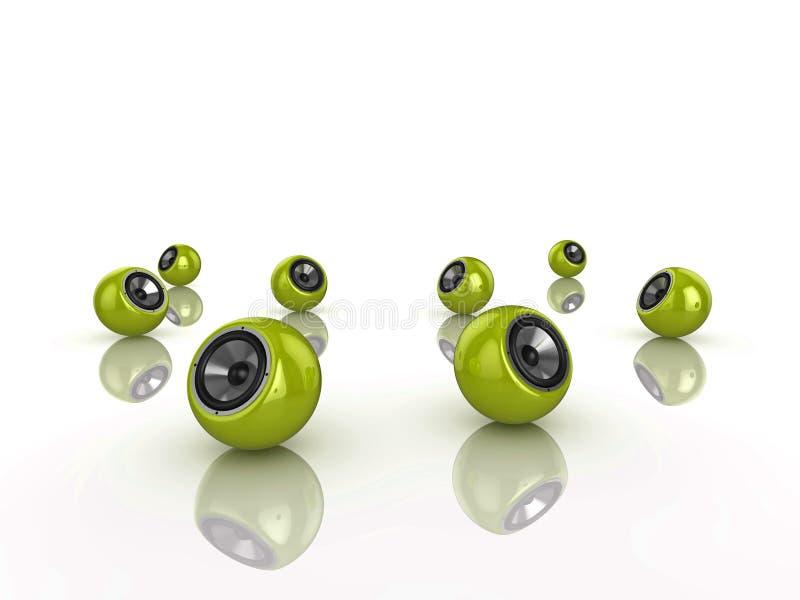 Download Mówca sfera ilustracji. Ilustracja złożonej z zabawa - 13340371