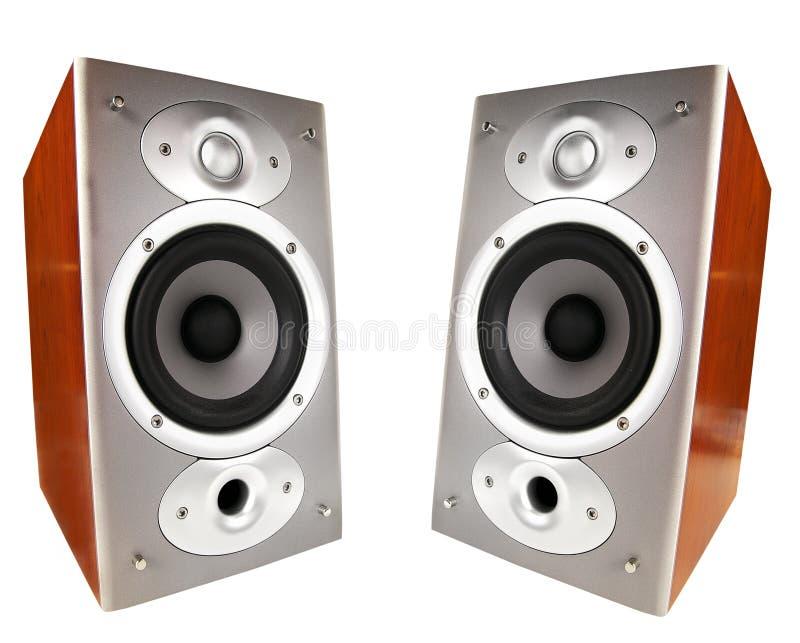 mówcy stereo zdjęcia royalty free