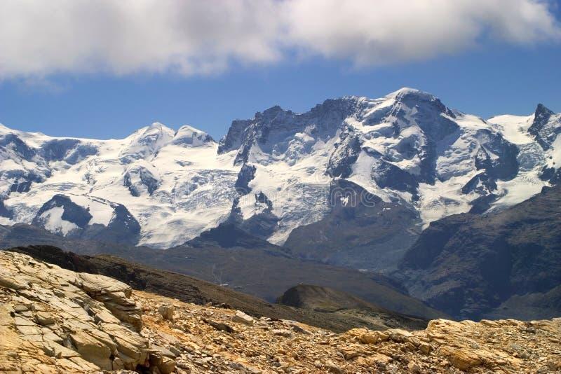 mówię breithorn Szwajcarii obrazy stock