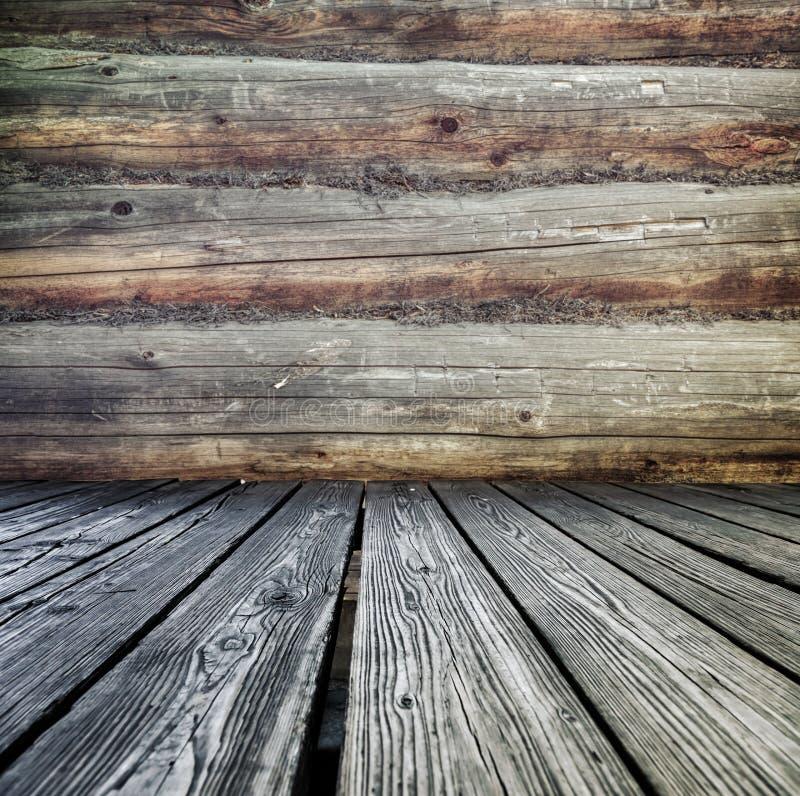 Mównica robić drewniane deski fotografia stock