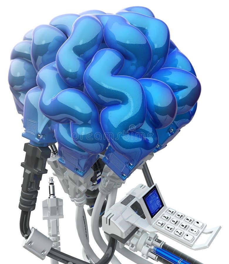 Mózg Depeszujący Zdjęcia Royalty Free
