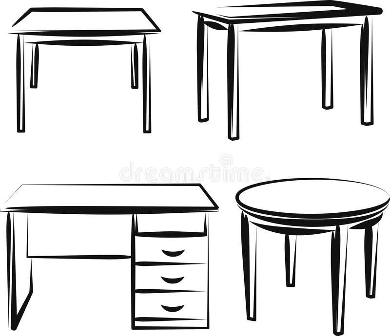 Möbel lizenzfreie abbildung