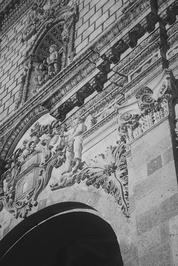 Möblemang av kyrkan royaltyfri fotografi