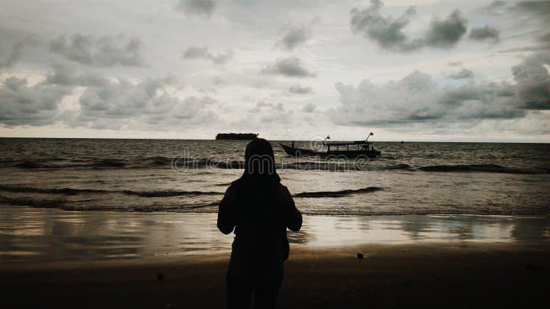 Möchten die Insel hinten kreuzen stockfotos