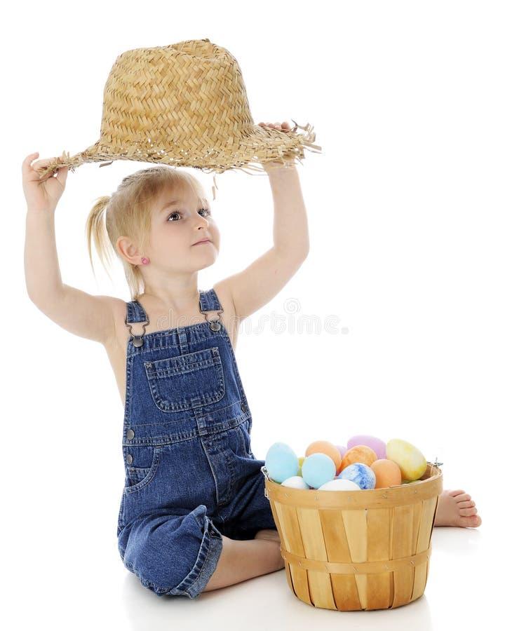Mögen meines zerlumpten Hutes lizenzfreie stockfotografie