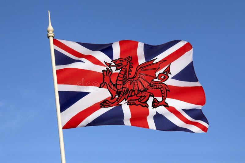 Mögliches neues Design für Flagge des Vereinigten Königreichs lizenzfreie stockfotos