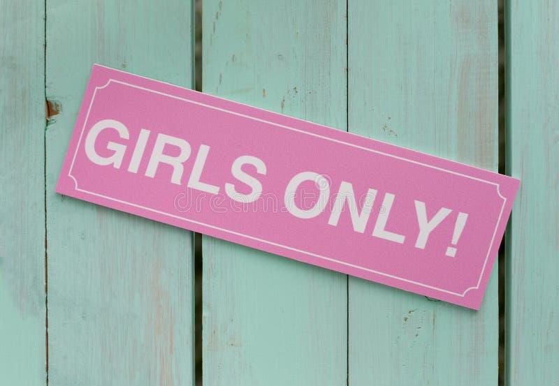 Möhippa kvinnliga teckenflickor endast Fotobåsbakgrund, garnering arkivbilder