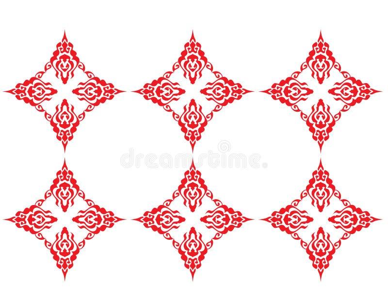 mönsan red royaltyfri illustrationer