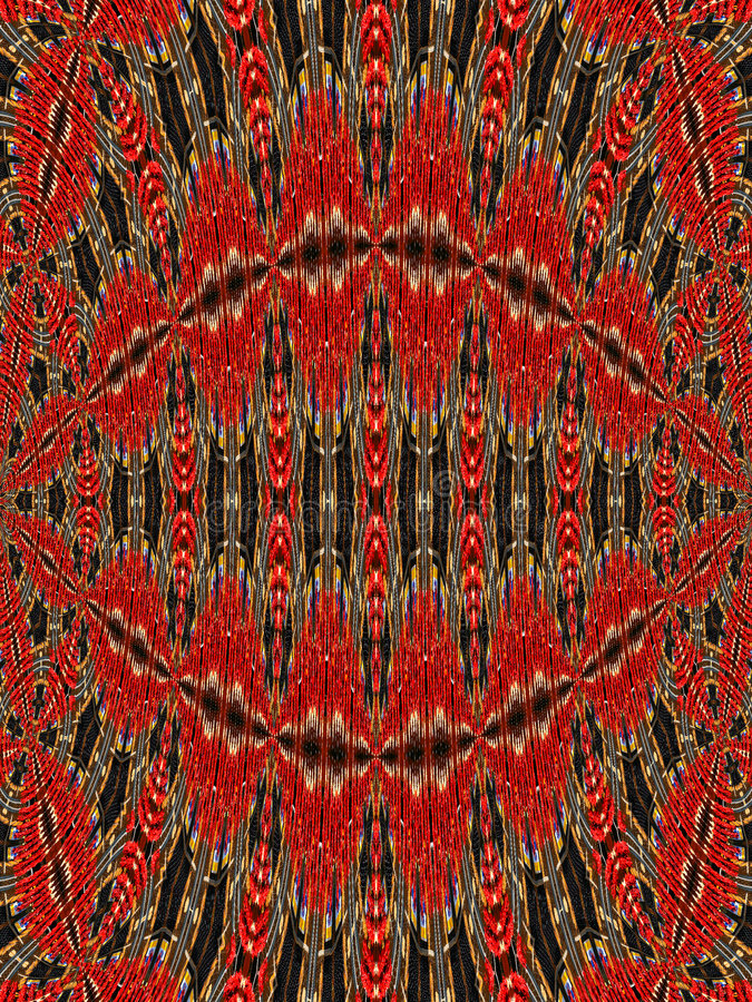 Mönsan Tapestryen Royaltyfri Fotografi