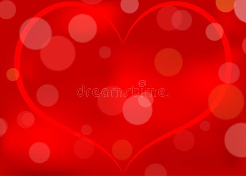 Mönstrad bakgrund för abstrakt hjärta royaltyfri illustrationer