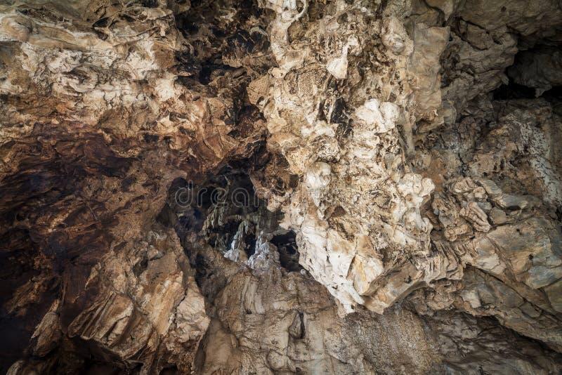 Mönstrad grotta royaltyfria bilder