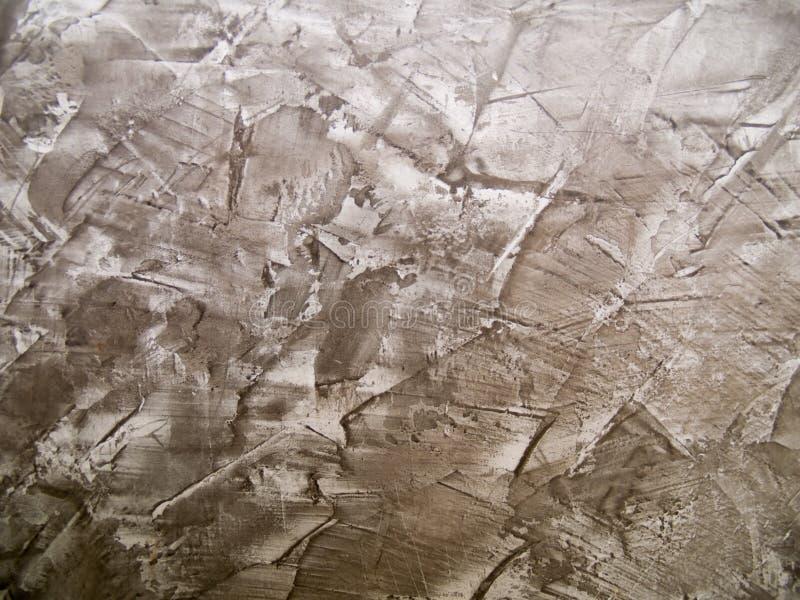 Mönstrad textur av betongväggen royaltyfri bild