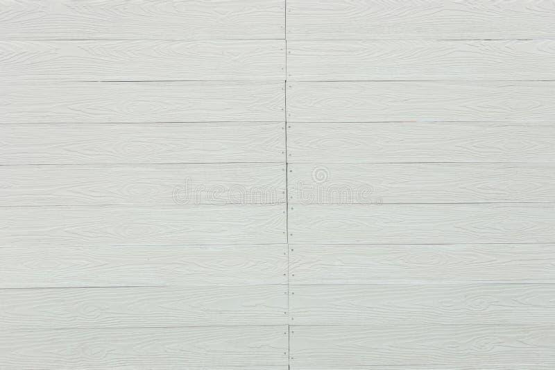 Mönstrad träväggbakgrund för vit arkivfoton