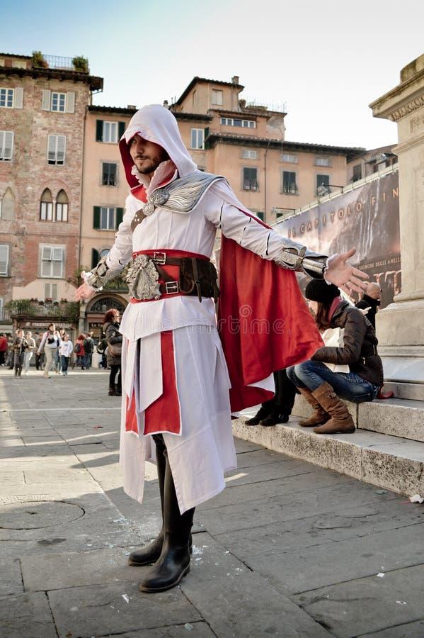 Mördares bekännelse på Lucca komiker och lekar 2014 arkivfoto