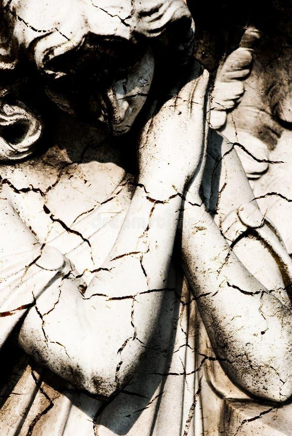 Mörk ängel arkivbilder