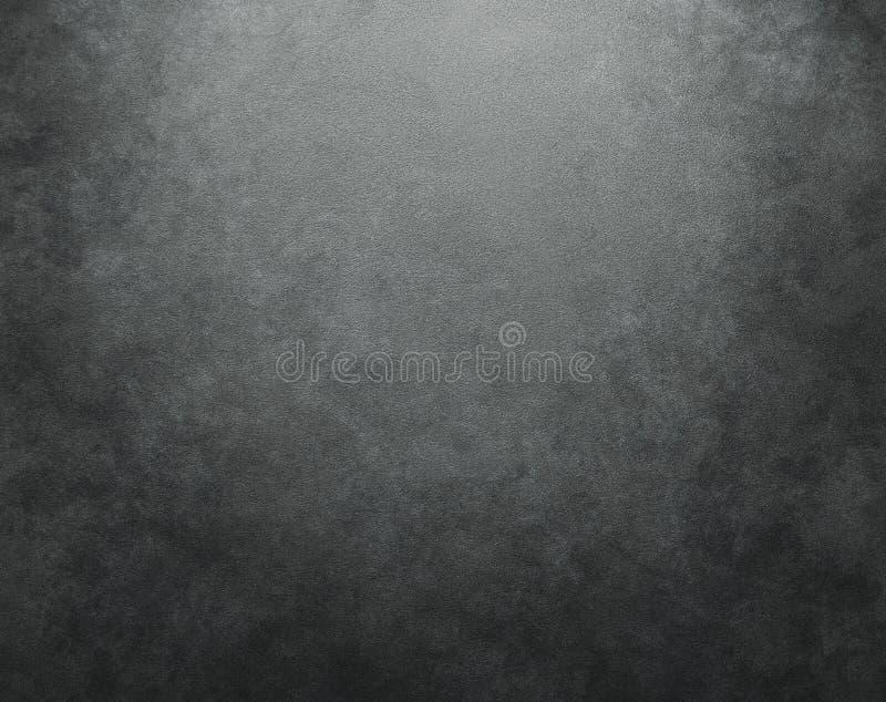 Mörk betongvägg stock illustrationer