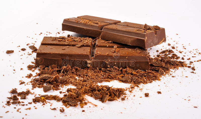 Mörk choklad royaltyfria foton