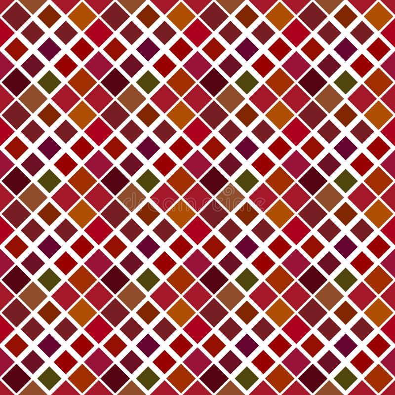 Mörk geometrisk abstrakt diagonal fyrkantig modellbakgrund vektor illustrationer