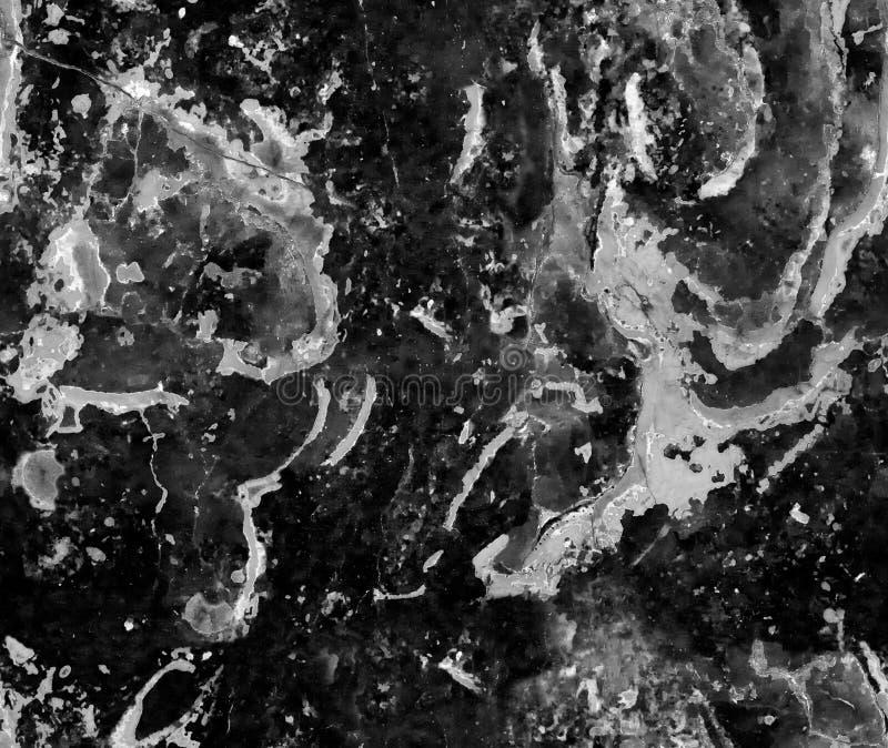 Mörk grå naturlig sömlös bakgrund för modell för marmorstentextur För marmortextur för grov naturlig sten sömlös yttersida med sp royaltyfria bilder
