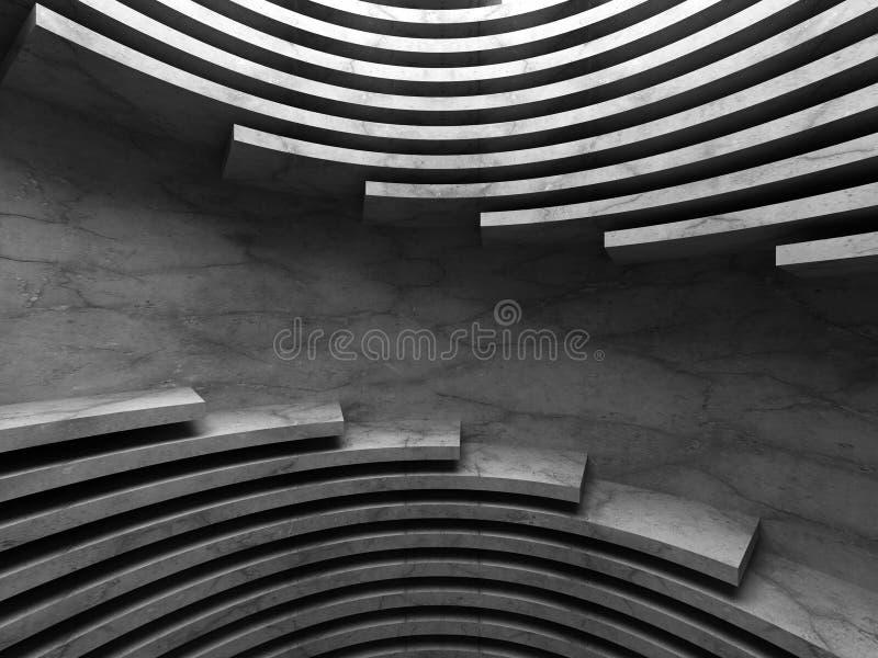 Download Mörk Industriell Bakgrund För Abstrakt Konkret Arkitektur Stock Illustrationer - Illustration av cement, grunge: 78728945