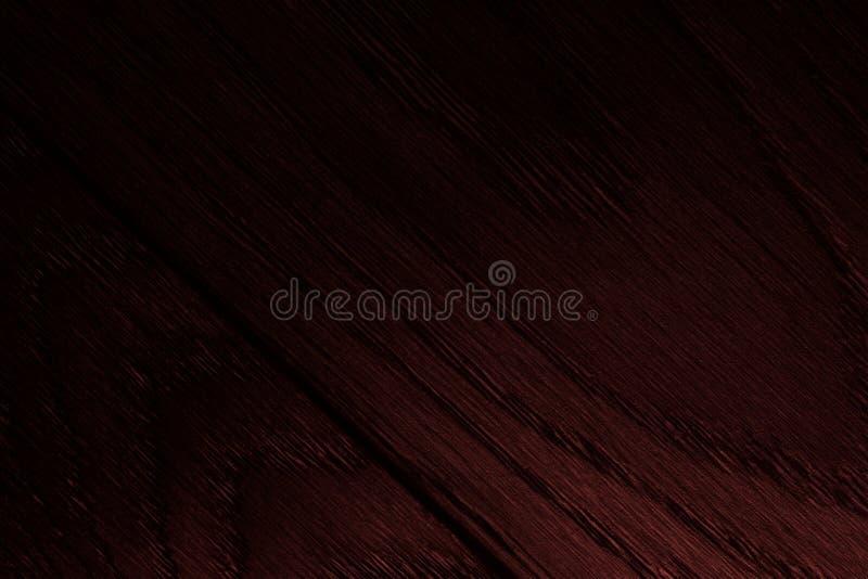 Mörk körsbärsröd wood textur arkivfoto