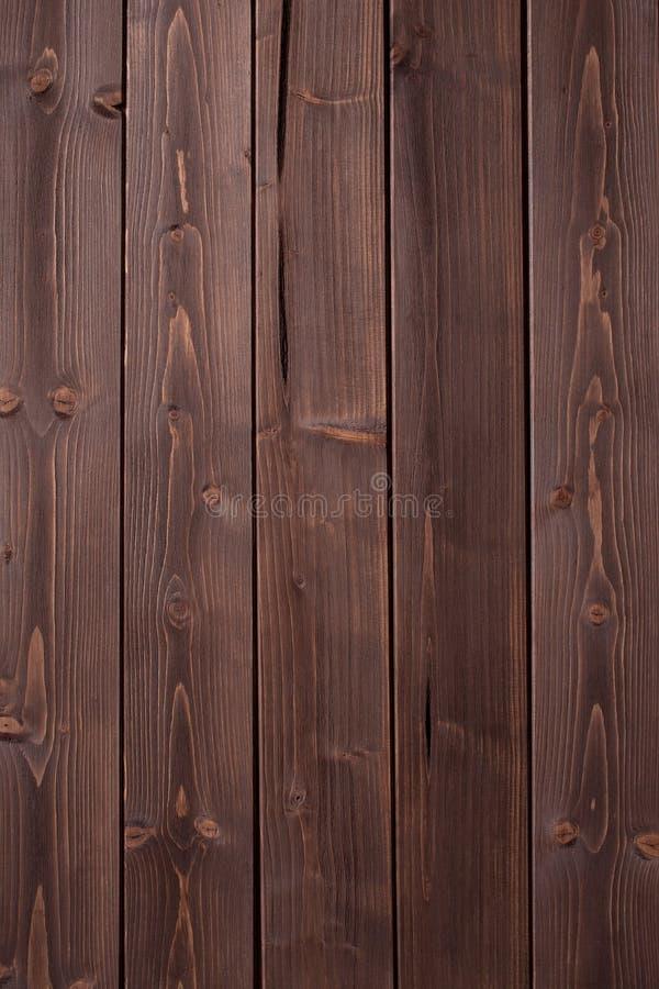 Mörk kastanjebrun wood textur royaltyfri fotografi