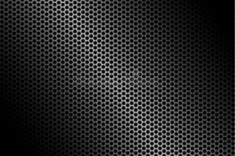 Mörk kolfiberbakgrund, materielvektorillustration stock illustrationer