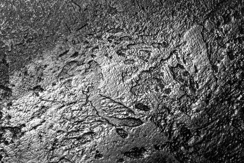Mörk kolgruva royaltyfri foto