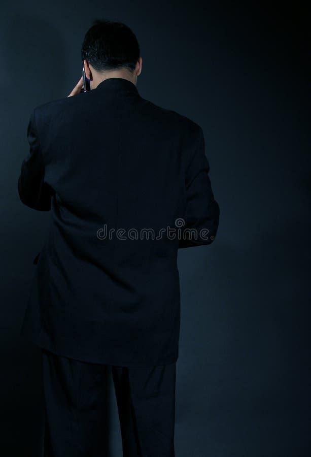 mörk kraftsida royaltyfria bilder