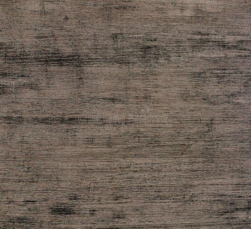 Mörk naturlig trävägg eller däcka modellyttersidatextur Närbild av inre material för designgarneringbakgrund royaltyfri fotografi