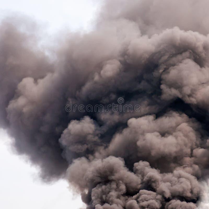 Mörk rök fotografering för bildbyråer
