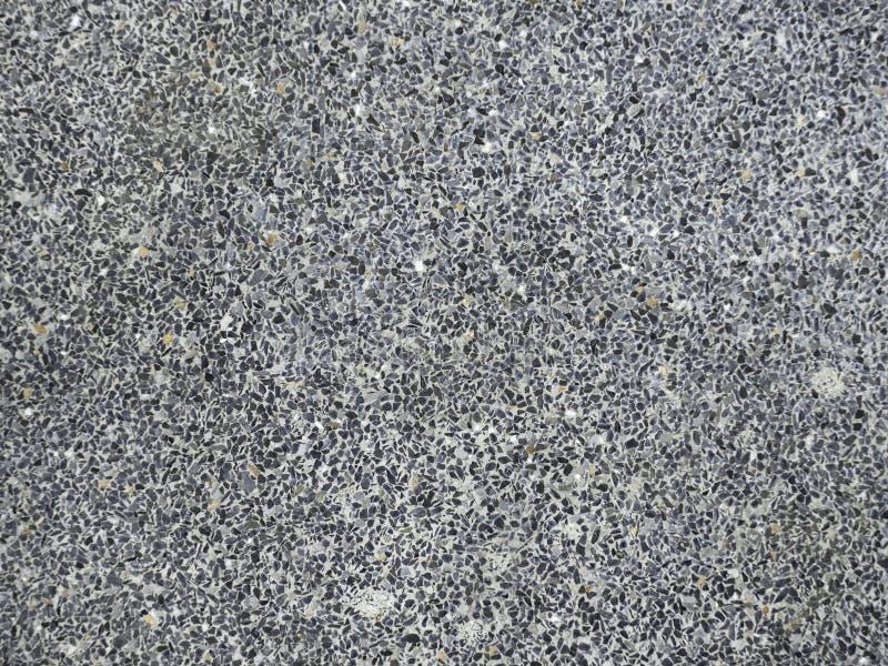 Mörk svart asfaltvägyttersida royaltyfria foton