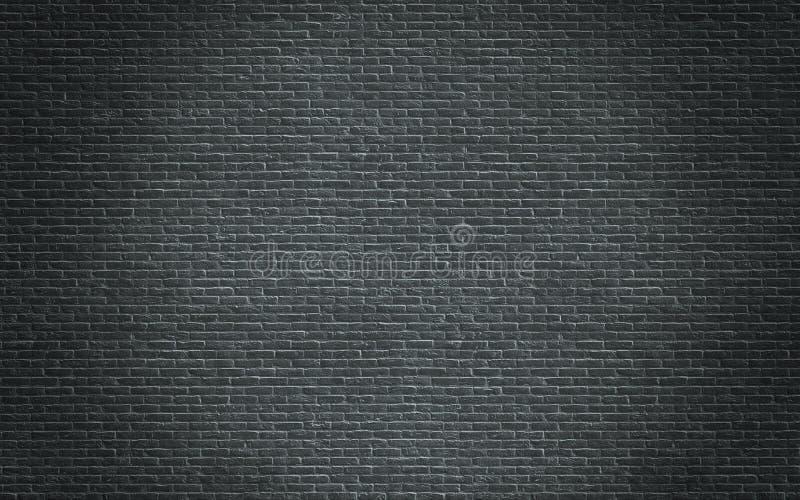 Mörk tegelstentextur royaltyfri foto