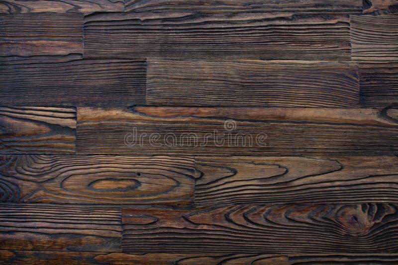 Mörk träbakgrund Vintagepanel av gammalt texturerat mörkt trä Motorn till träbord Bakgrund för text, sortering royaltyfria foton