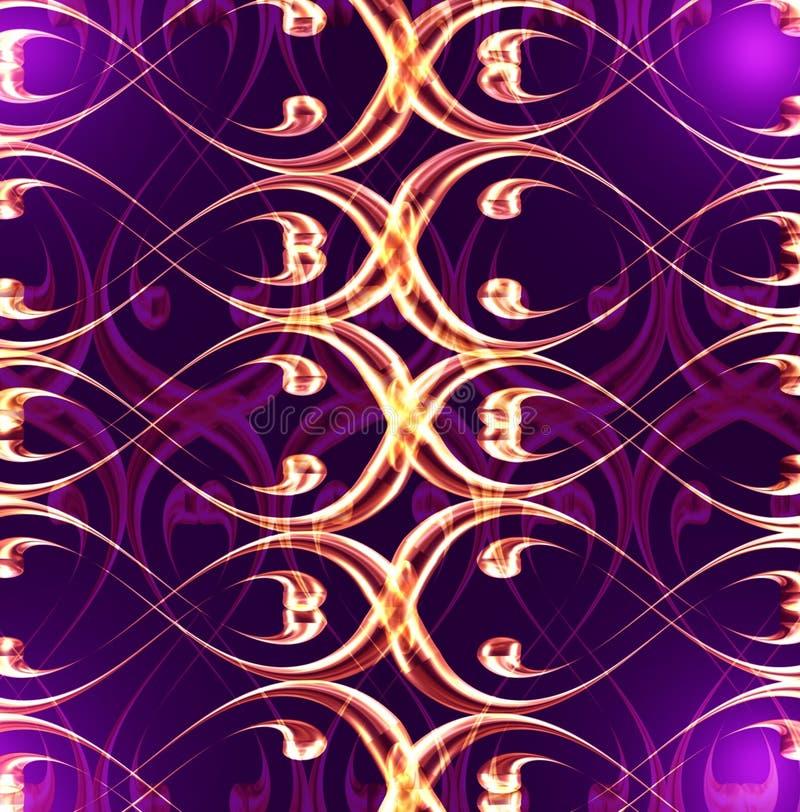 mörk violet royaltyfri illustrationer