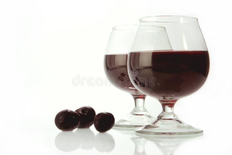 mörk wine royaltyfri bild