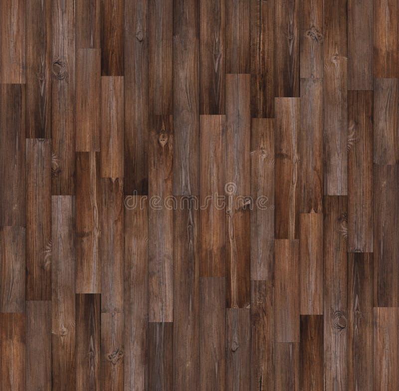Mörk wood golvtexturbakgrund, sömlös wood textur arkivbilder